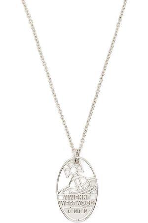 Vivienne Westwood Hombre Collares - Archibald Tag necklace