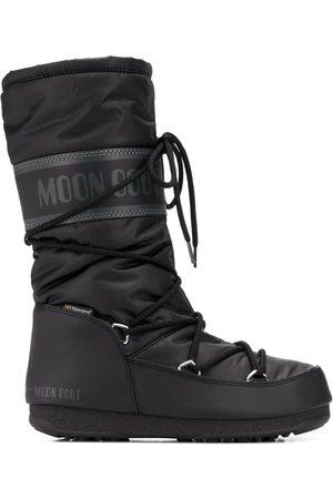 Moon Boot Botas acolchadas con cordones