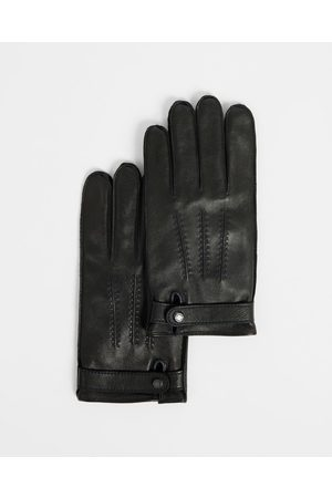 Ted Baker Hombre Gorros - Leather Top Stitch Gloves
