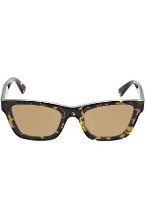 BOTTEGA VENETA | Mujer Gafas De Sol Cat Eye De Acetato /brown Unique