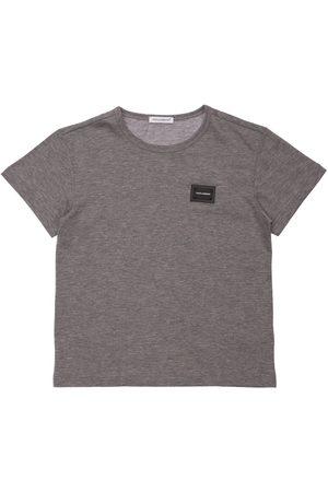 DOLCE & GABBANA Niño Camisetas - | Niño Camiseta De Algodón Con Logo 8a