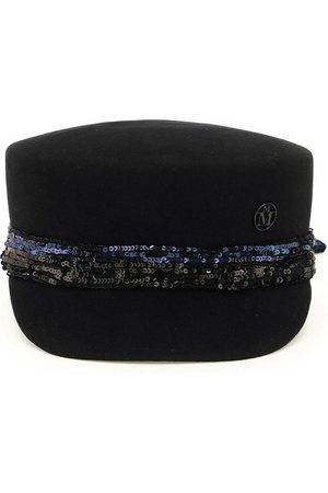 Le Mont St Michel Abby felt and sequins beret , Mujer, Talla: L