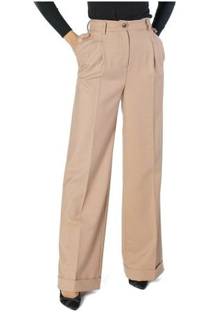 Twin-Set Mujer Pantalones anchos y harén - Palazzo Trousers , Mujer, Talla: 44 IT