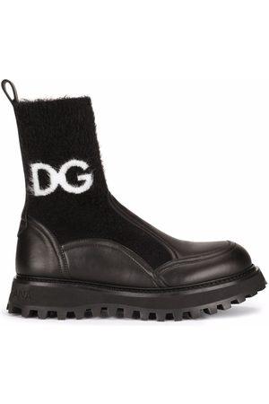 Dolce & Gabbana Botines con suela dentada