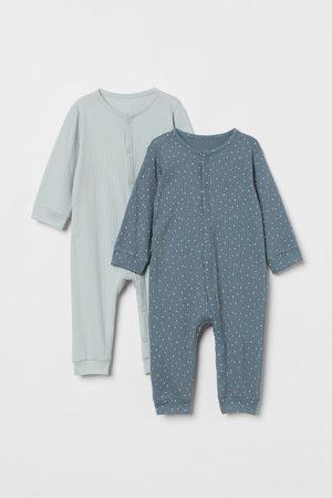 H & M Pack de 2 pijamas de canalé