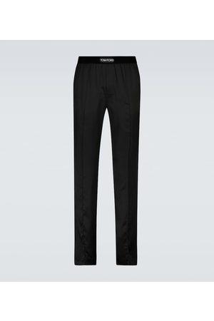 Tom Ford Pantalones de pijama de seda