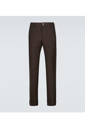 Givenchy Pantalones de lana de ajuste slim