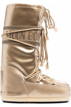 Moon Boot Botas de nieve Icon metalizadas