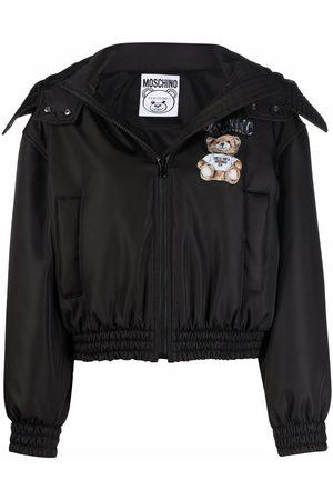 Moschino Mujer Bomber - Chaqueta con motivo Teddy Bear