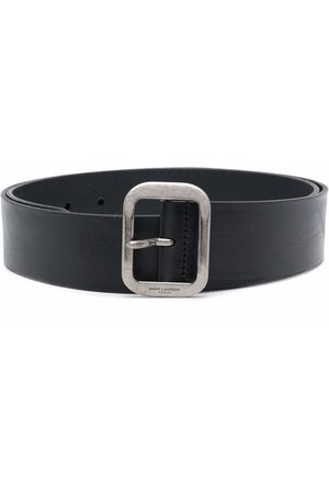 Saint Laurent Hombre Cinturones - Brushed effect belt