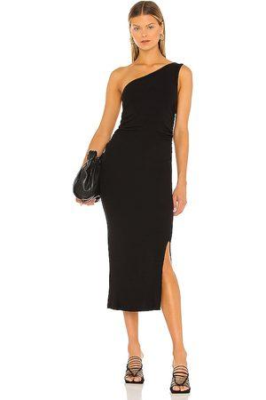 LNA Vestido tirantes ariel en color talla L en - Black. Talla L (también en XS, S, M).