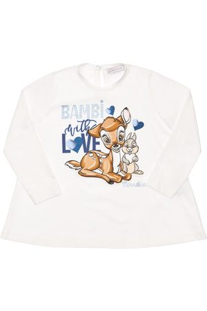 MONNALISA Niña Camisetas - | Niña Camiseta De Jersey Con Estampado Bambi 4a