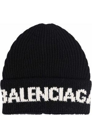 Balenciaga Hombre Sombreros y Gorros - Intarsia-logo beane