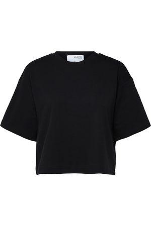 SELECTED Mujer Camisetas y Tops - Camiseta 'Frame