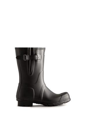 Hunter Boots Botas De Agua Cortas Y Con Lateral Ajustable Original Para Hombre