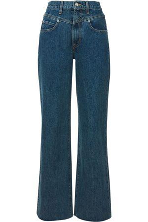 SLVRLAKE   Mujer Jeans Grace De Pierna Ancha 24