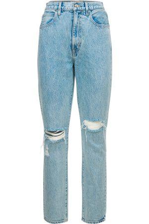 SLVRLAKE Mujer Cintura alta -   Mujer Jeans Beatnik Desgastados 24