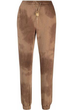 Pinko Mujer Chándals - Pantalones de chándal con motivo tie-dye