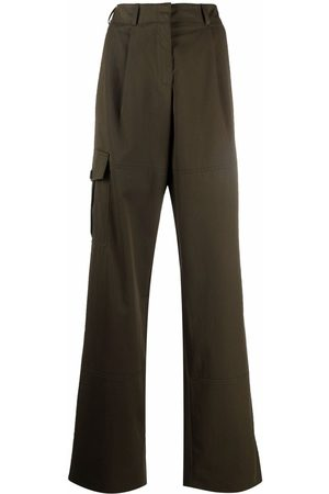 Nina Ricci Pantalones cargo anchos
