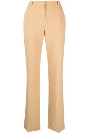 Nina Ricci Pantalones rectos de talle medio