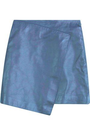 Dagmar Darda Leather Skirt , Mujer, Talla: 38