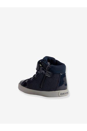Geox Bebé Zapatillas deportivas - Zapatillas MID B Gisli Girl ® para bebé oscuro liso con motivos