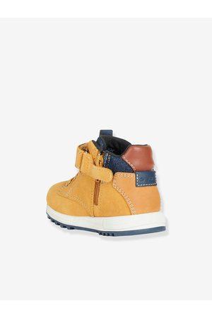 Geox Bebé Zapatillas deportivas - Zapatillas MID B Alben Boy ®, para bebé oscuro liso con motiv