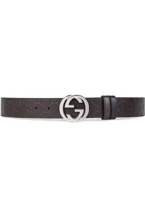 Gucci Cinturón reversible con logo