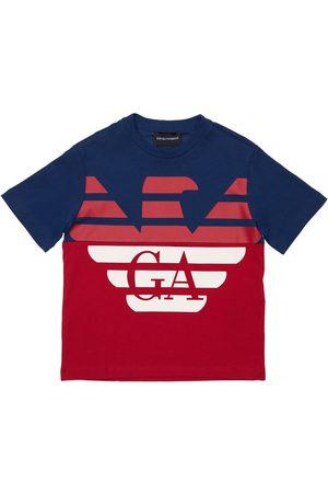 Emporio Armani | Niño Camiseta De Jersey De Algodón Con Logo 8a