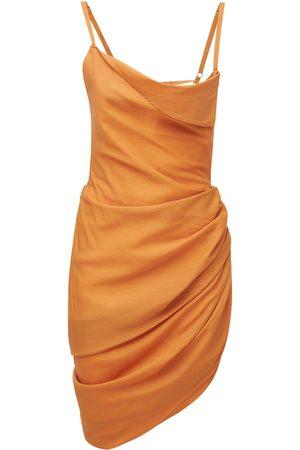 Jacquemus | Mujer Vestido Corto La Robe Saudade De Viscosa 32