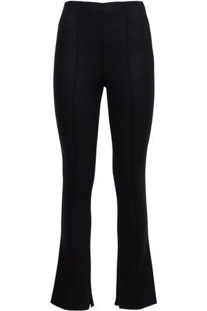 Armani | Mujer Pantalones Skinny Fit De Jersey De Mezcla De Lana 38