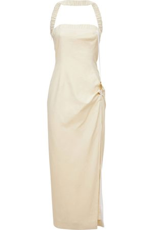 Jacquemus | Mujer La Robe Ventoux Viscose Blend Midi Dress 32