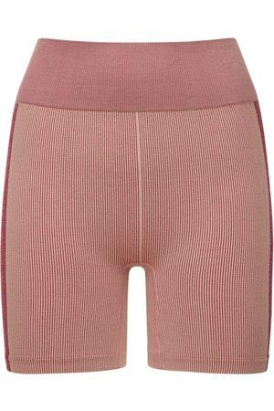 The Upside | Mujer Shorts Midi De Punto Con Cintura Alta Xs