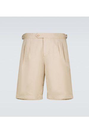 Orlebar Brown Shorts Bancroft de lino y algodón