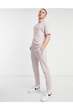 HUGO BOSS Pantalones de chándal con banda y logo lateral Hurley Athleisure de