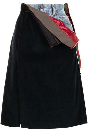 Kolor Mujer Acampanadas - Falda acampanada a capas