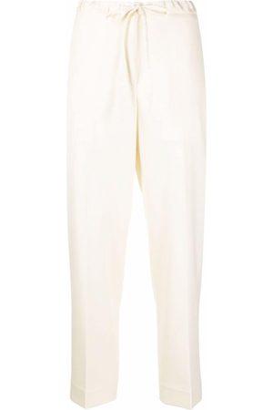 Jil Sander Pantalones slim con cordones