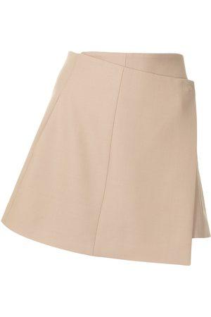 Anna Quan Mujer Minifaldas - Minifalda Delilah asimétrica