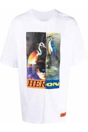 Heron Preston Camiseta Split Light Herons