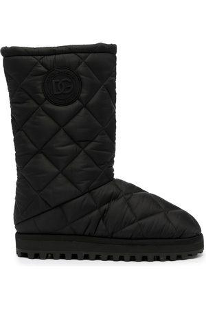 Dolce & Gabbana Botas de nieve acolchadas
