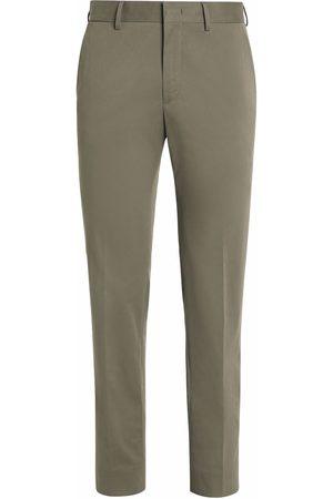 Ermenegildo Zegna Hombre Pantalones slim y skinny - Pantalones stretch de corte slim