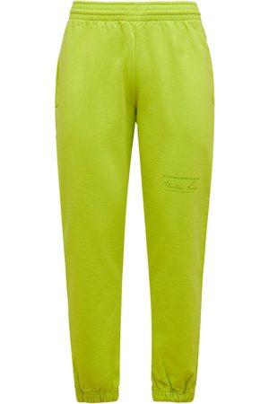 MARTINE ROSE Hombre Pantalones slim y skinny - | Hombre Pantalones Slim Fit De Jersey De Algodón S