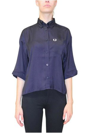 Fred Perry Mujer Tops - Camicia , Mujer, Talla: UK 10
