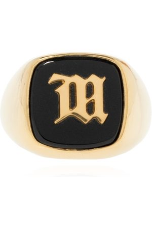 MISBHV Ring with logo , Mujer, Talla: 14