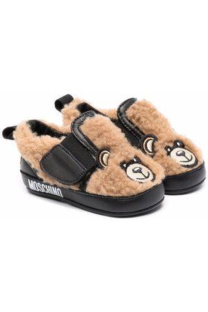 Moschino Bebé Patucos - Zapatos con motivo Teddy Bear
