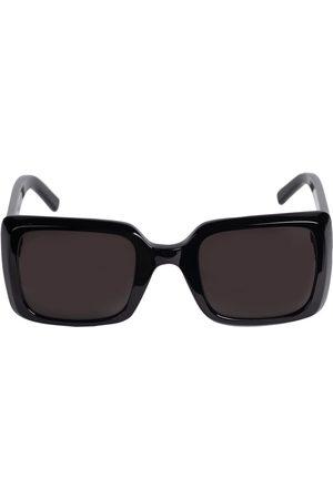 Saint Laurent | Mujer Gafas De Sol Sl 497 Cuadradas De Acetato /smoke Unique