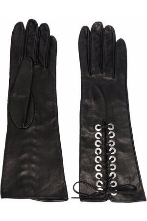 Manokhi Guantes con cordones
