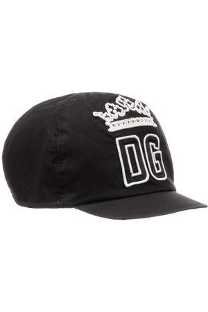 Dolce & Gabbana Kids DG Crown Cap Black - BLACK EXTRA LARGE