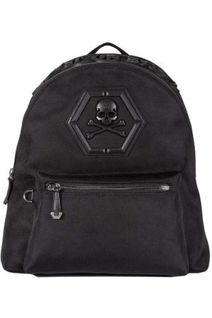 """Philipp Plein """"Don't Ever Give Up"""" Backpack - BLACK ONE SIZE"""