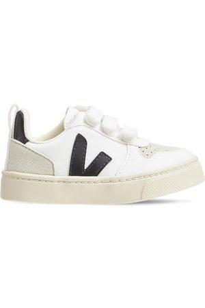 VEJA | Niña Sneakers De Algodón Orgánico Con Correas /negro 24